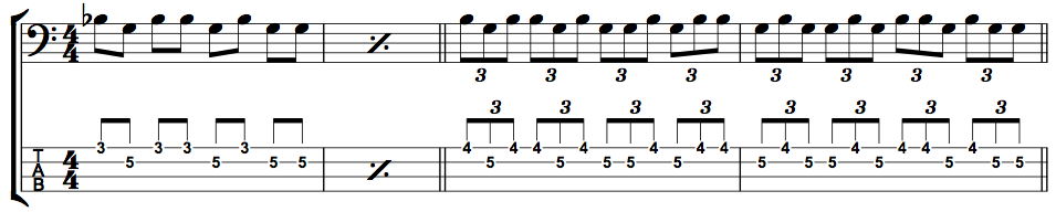 Paradiddle Exercise